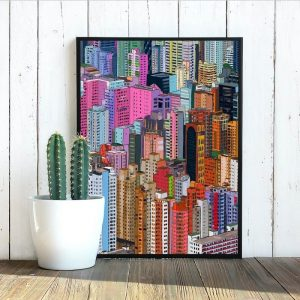 Poster - Hong Kong Buildings