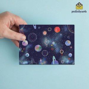 POSTIVITYCARD - SPACE